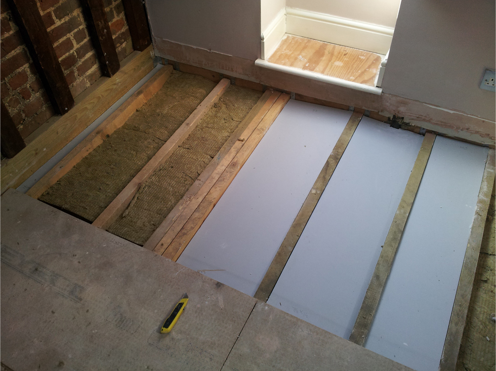 London Soundproofing Floors